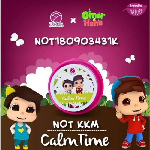 calm time, baby balm, tasneem naturel