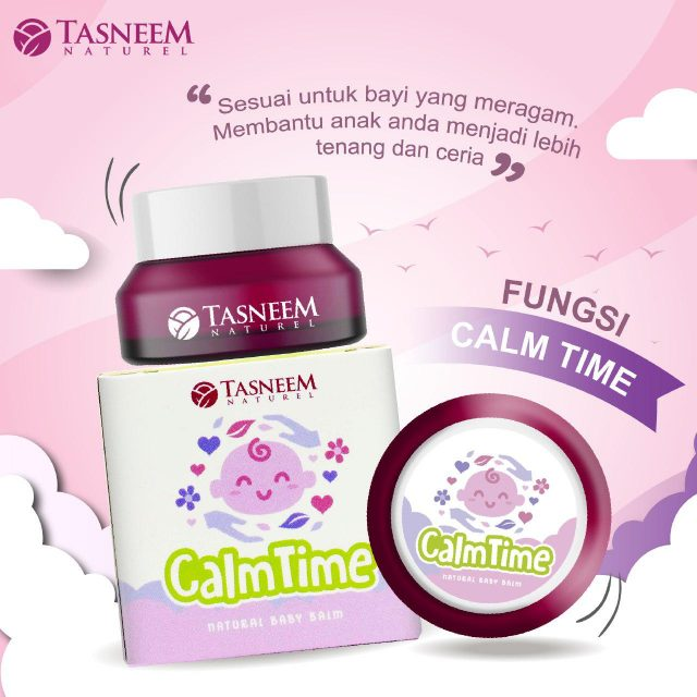 balm calm time tasneem naturel