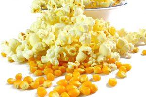 snek sihat untuk anak, popcorn