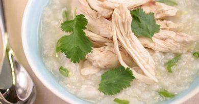 Resipi Bubur Kaki Ayam Yang Sedap Dan Berkhasiat