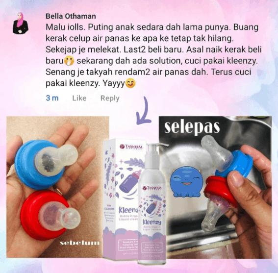 pencuci botol susu organik