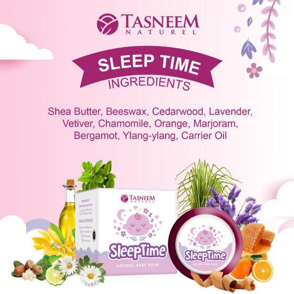 bahan dalam balm sleep time